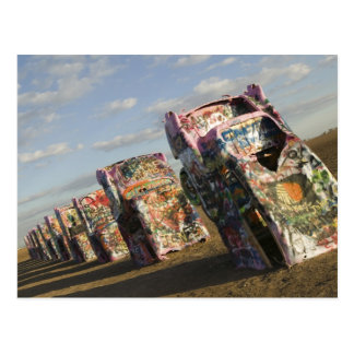 USA, TEXAS, Panhandle-Bereich, Amarillo: Cadillac Postkarte