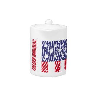 USA-Touchfingerabdruckflagge