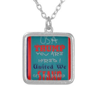 USA-Trumpf werden Sie eingestellt! Vereinigt Versilberte Kette