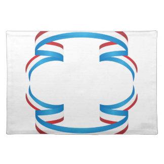USA-Unabhängigkeitstag-Band-Fahne Tischset