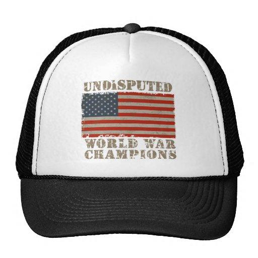USA, unbestrittene Weltkrieg-Meister Baseball Cap