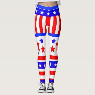 USA-US Flagge Leggings