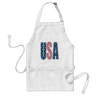 USA-US Flagge-Schürze