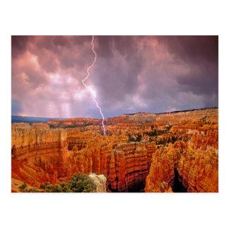USA, Utah, Bryce Schlucht-Nationalpark Postkarte