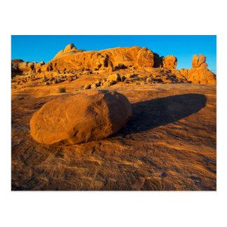 USA, Utah, Moab, Sandstein Postkarte
