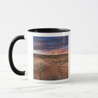 USA, Utah. Sonnenuntergang auf Gift-Spinnen-MESA Tasse