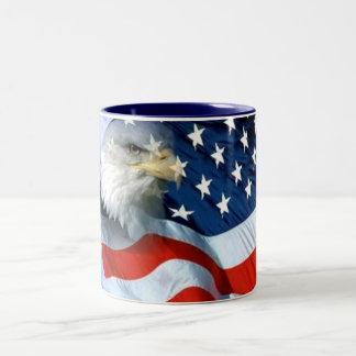 USA verbreiteten es ist Love_ Zweifarbige Tasse