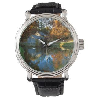 USA, Virginia, blaue Ridge-Allee, Mabry Mühle Armbanduhr