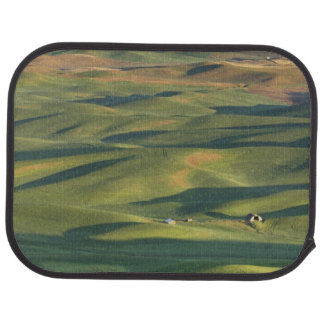 USA, WA, Whitman Co., Palouse Bauernhof-Felder von Automatte