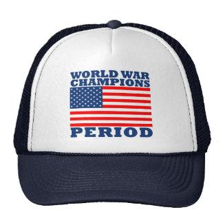 USA, Weltkrieg-Meister, Zeitraum Retrokultmützen