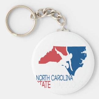 USA-Wrestling Nord-Carolina Schlüsselanhänger