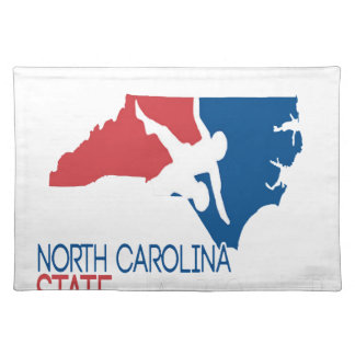 USA-Wrestling Nord-Carolina Stofftischset