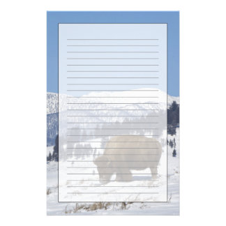 USA, WY, Yellowstone NP, amerikanischer Briefpapier