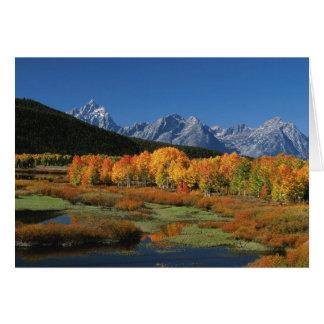USA, Wyoming, großartiger Tetons Nationalpark Karte