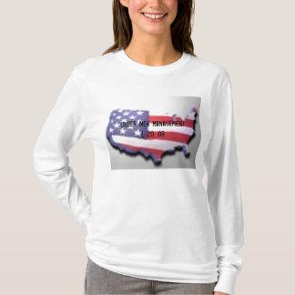 USA zeichnen unter neuem Management 1. 20. 09 auf T-Shirt
