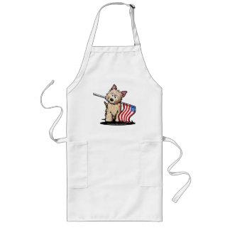 USAcairn-Terrier-Schürze Lange Schürze