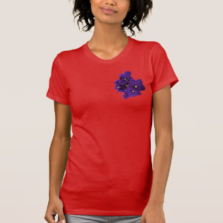 Usambaraveilchen-Rot-T - Shirt