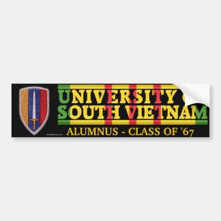 USARV - U des Südvietnam-Schüler-Aufklebers Autoaufkleber