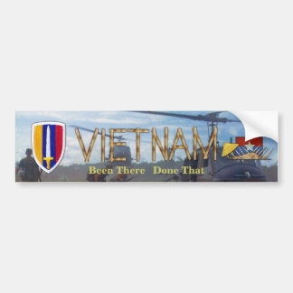 USARV Vietnam Nam Kriegs-Flecken untersucht Autoaufkleber