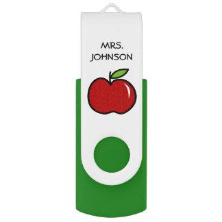 USB-Blitz-Antrieb Apfel des kundenspezifischen USB Stick