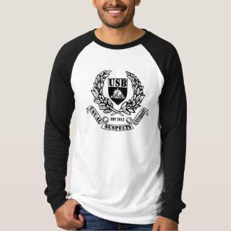USB-Hochschulraglan-lange Hülse T-Shirt