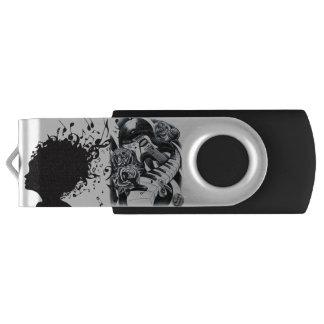 USB-Schlüssel für Ihre Musik! Swivel USB Stick 2.0