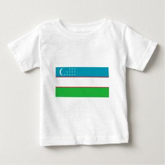 Usbekistan-Flagge Baby T-shirt