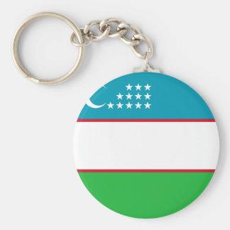 Usbekistan-Flagge Schlüsselanhänger