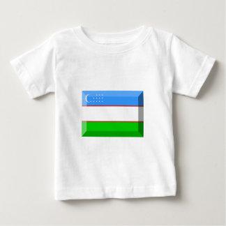 Usbekistan-Flaggen-Juwel Baby T-shirt