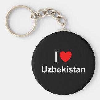 Usbekistan Schlüsselanhänger