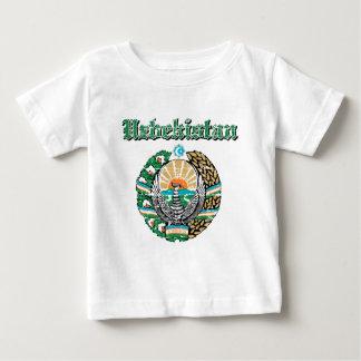 Usbekistan-Wappen Entwürfe Baby T-shirt