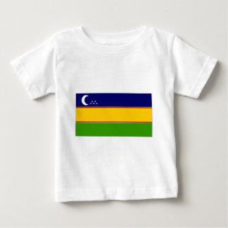 Usbekistankarakalpak-Flagge Baby T-shirt