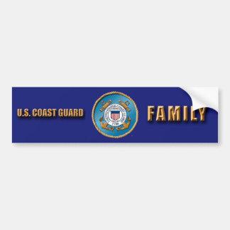 USCG Familien-Autoaufkleber Autoaufkleber