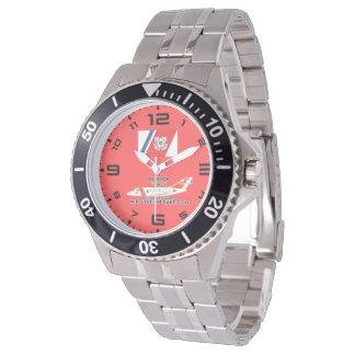 USCG Flughafen-Cape Cod-Flieger Armbanduhr