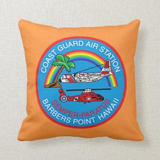 USCG Flughafen-Friseur-Punkt-Hawaii-Flug-Crew Kissen