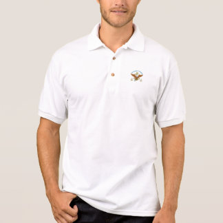 USCG Obermaat-Eagle-Anker Polo Shirt