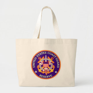 USCG Reserve-Siegel Jumbo Stoffbeutel