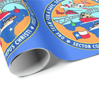 USCG Station Corpus Christi Texas Geschenkpapier