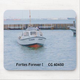 USCG Vorderansicht 40 Fuß-Gebrauchsboots-große # Mousepad