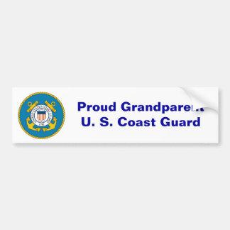 USCGSealcolor, stolzes GrandparentU. S. Autoaufkleber