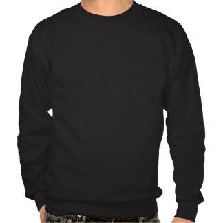 Usmc-Logo gestapelt - Weiß Sweater