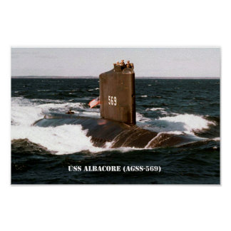 USS-ALBACORE POSTER