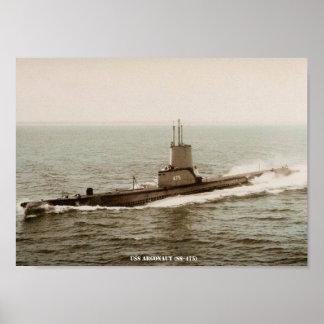 USS-ARGONAUT POSTER
