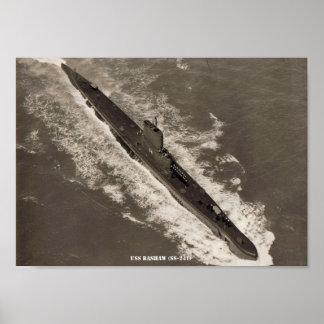 USS BASHAW POSTER