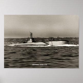USS BAYA POSTER
