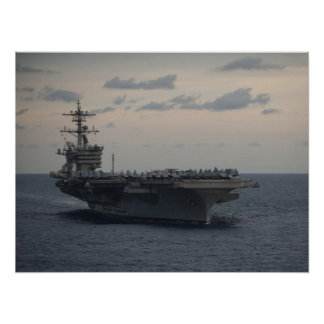 USS Carl Vinson (CVN 70) Posterdruck