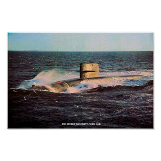 USS GEORGE BANCROFT POSTER