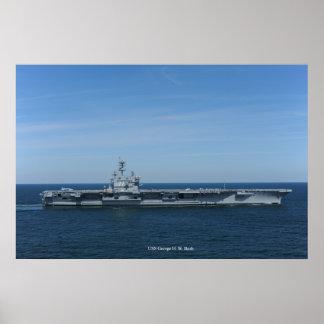 USS George H.W. Bush Poster