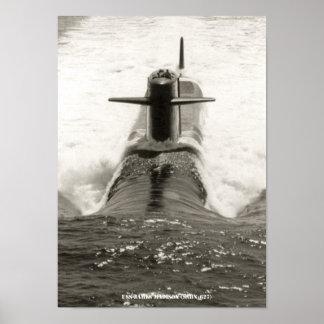 USS JAMES MADISON POSTER