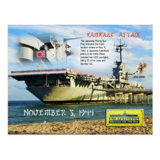 USS Lexington (CV-16), Corpus Christi, Texas Postkarte